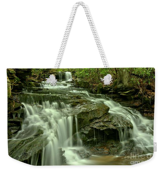 Gushing Through Forbes State Forest Weekender Tote Bag