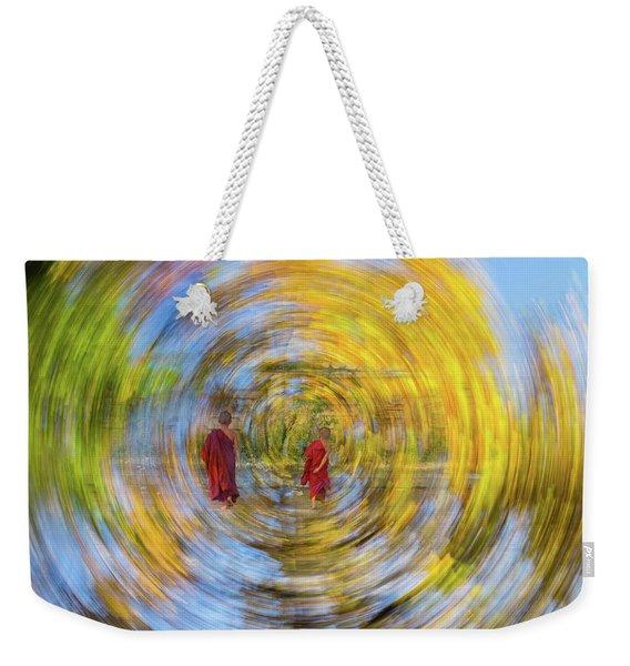 Gust Weekender Tote Bag