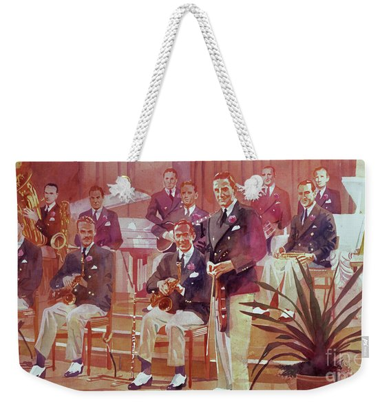 Guy Lombardo The Royal Canadians Weekender Tote Bag