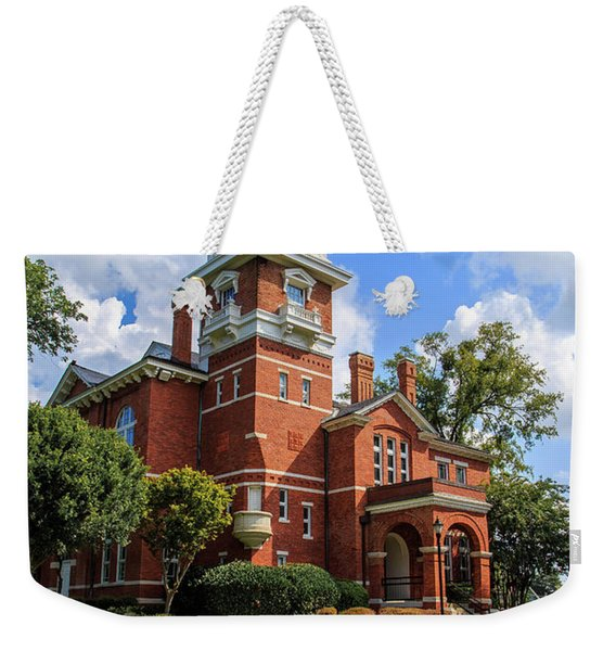 Gwinnett County Historic Courthouse Weekender Tote Bag
