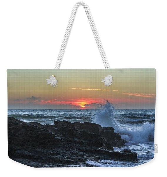 Gwithian Beach Sunset  Weekender Tote Bag
