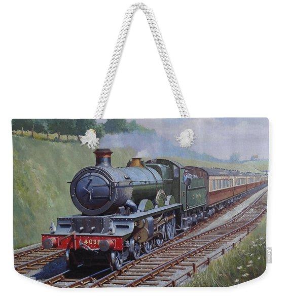 Gwr Star Class Weekender Tote Bag