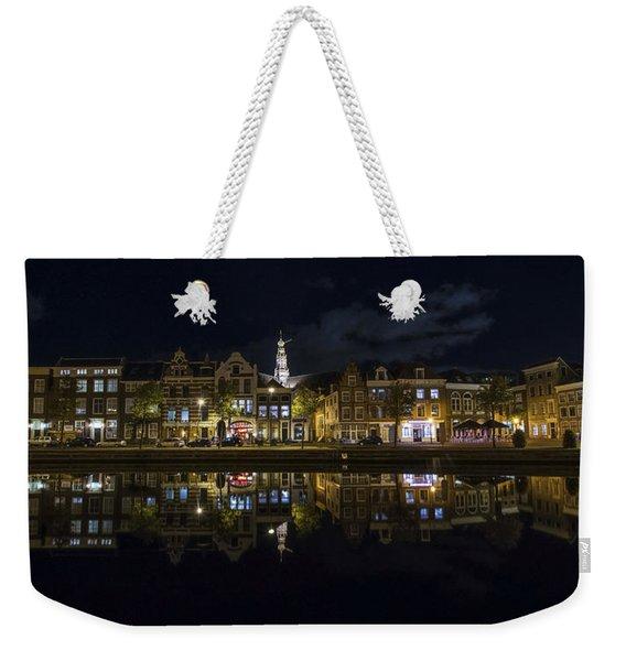 Haarlem Night Weekender Tote Bag