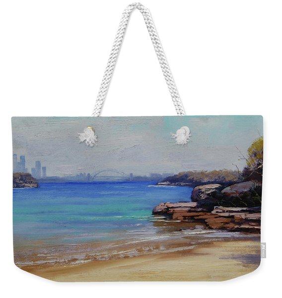 Habour Beach Sydney Weekender Tote Bag