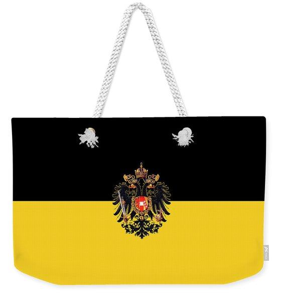 Habsburg Flag With Imperial Coat Of Arms 3 Weekender Tote Bag
