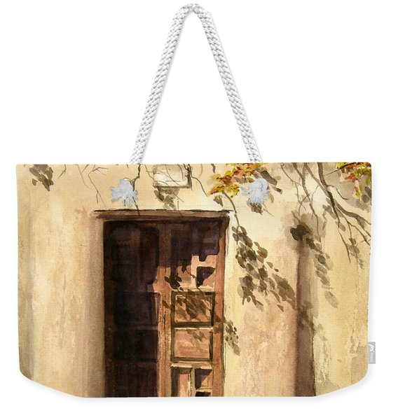 Hacienda Gate Weekender Tote Bag