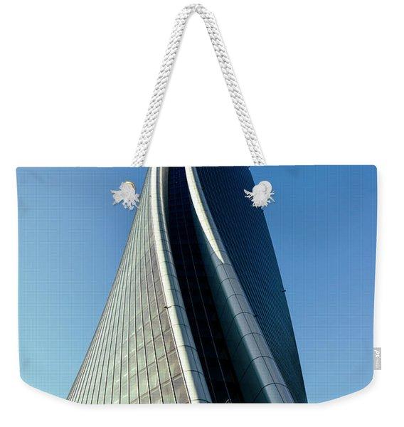 Hadid Tower, Milan, Italy Weekender Tote Bag