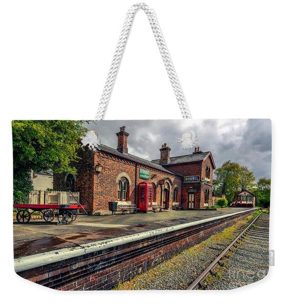 Hadlow Road Railway Station Weekender Tote Bag