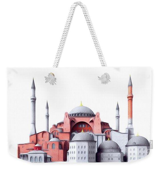 Hagia Sophia, Istanbul Weekender Tote Bag