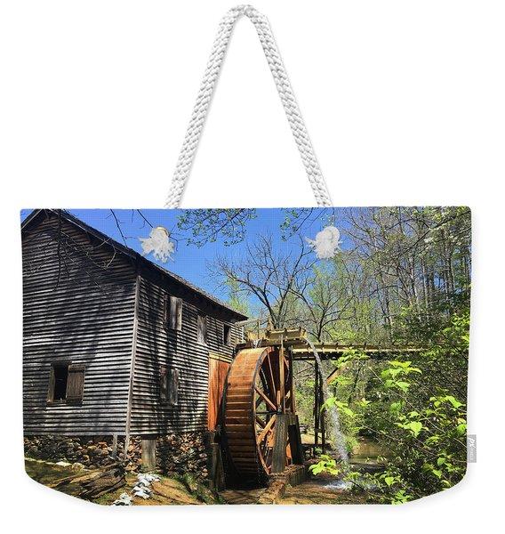 Hagood Mill Historic Site Gristmill Weekender Tote Bag