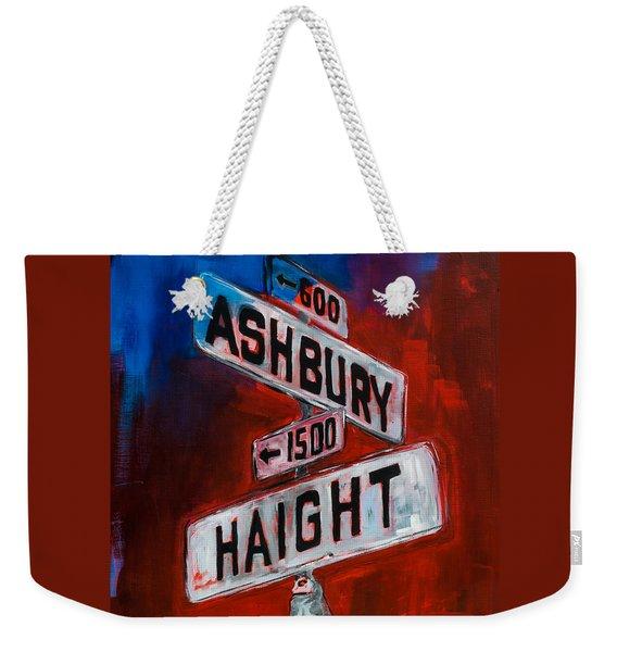 Haight And Ashbury Weekender Tote Bag