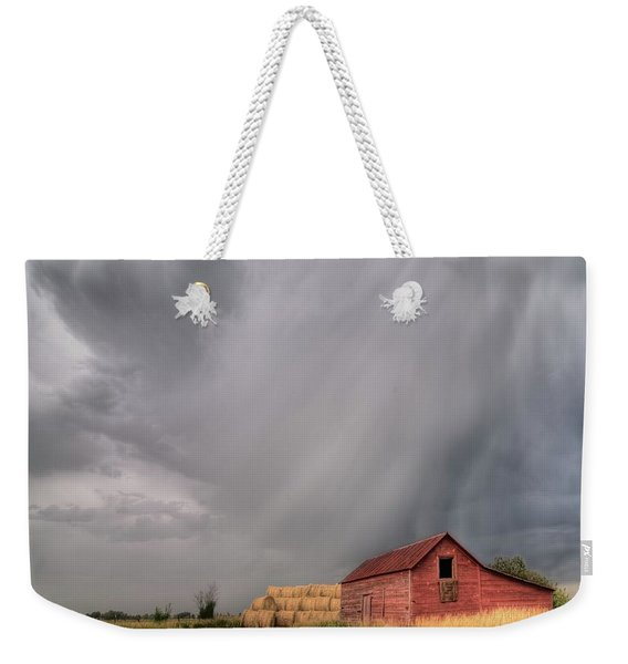 Hail Shaft And Montana Barn Weekender Tote Bag