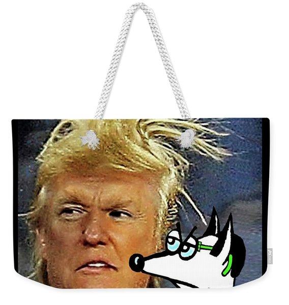Hail  Emperor Trump...   Weekender Tote Bag