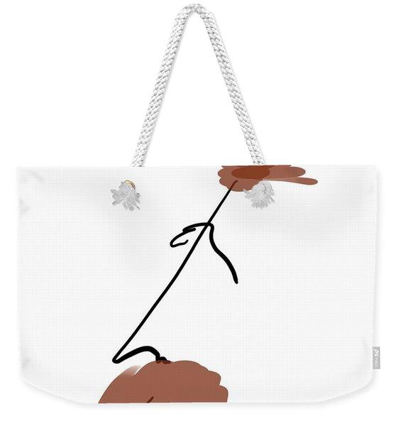 Hair Apparent Weekender Tote Bag