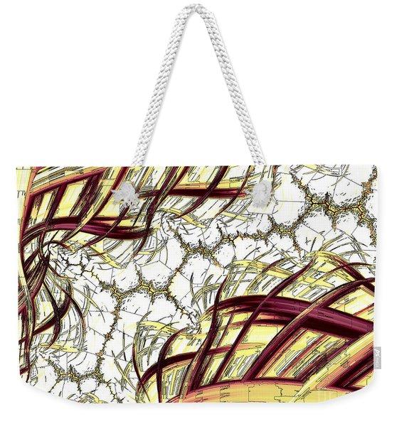Hairline Fracture Weekender Tote Bag