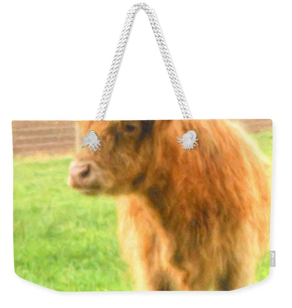 Weekender Tote Bag featuring the photograph Hairy Coos by Garvin Hunter