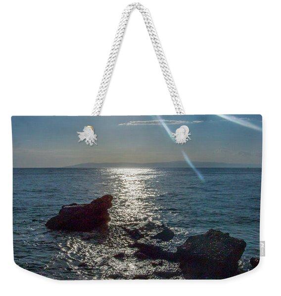 Haitian Beach In The Late Afternoon Weekender Tote Bag