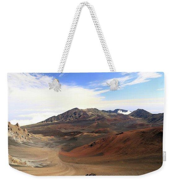 Haleakala Crater Weekender Tote Bag