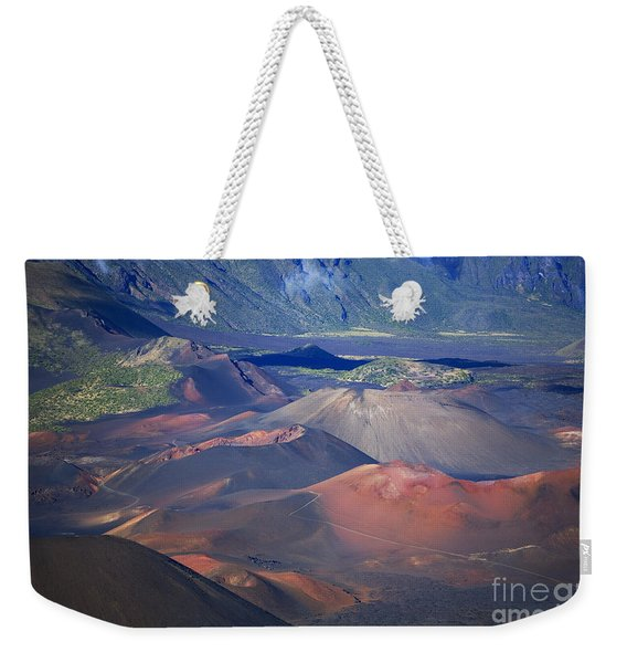 Haleakala Crater Patterns Weekender Tote Bag