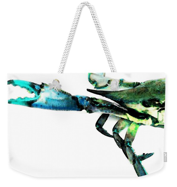 Half Crab - The Left Side Weekender Tote Bag