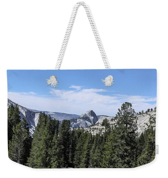 Half Dome From Olmstead Point Yosemite Valley Yosemite National Park Weekender Tote Bag