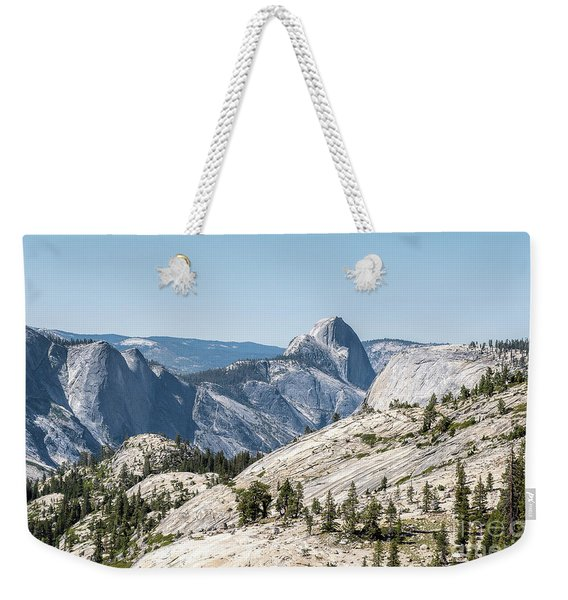 Half Dome Weekender Tote Bag