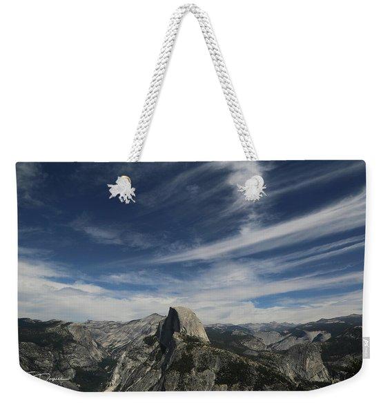 Half Dome Sky Weekender Tote Bag