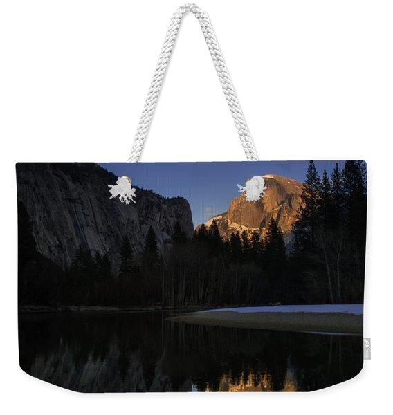 Half Dome, Twilight Weekender Tote Bag