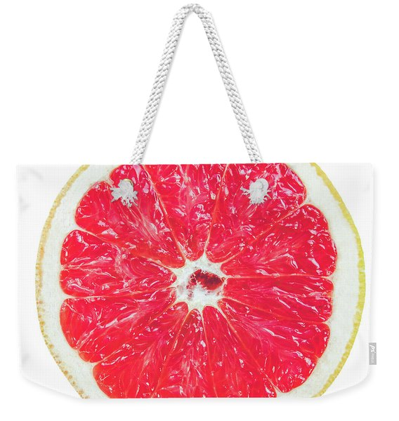 Half Grapefruit Weekender Tote Bag