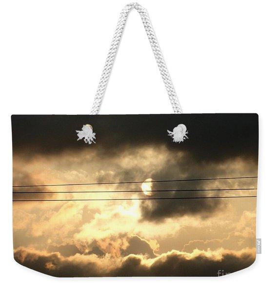 Half Moon Weekender Tote Bag
