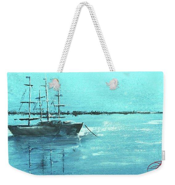 Half Moon Harbor Weekender Tote Bag