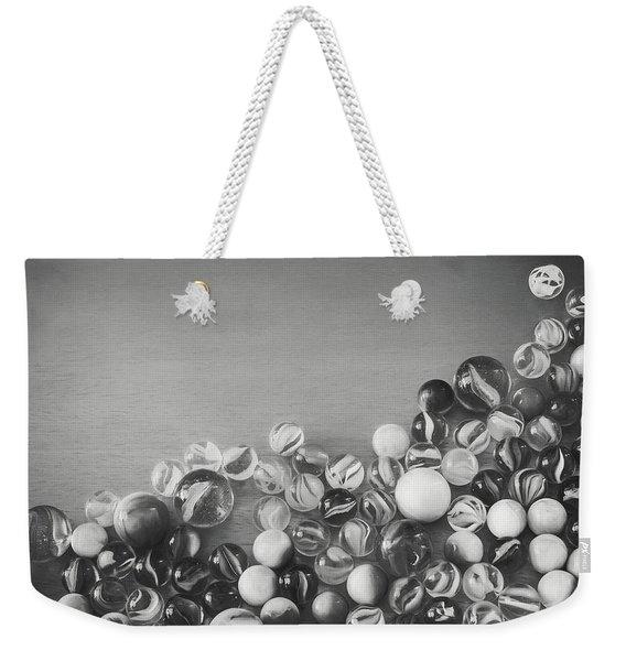 Half My Marbles Weekender Tote Bag