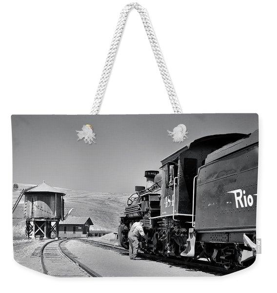 Half Way Weekender Tote Bag