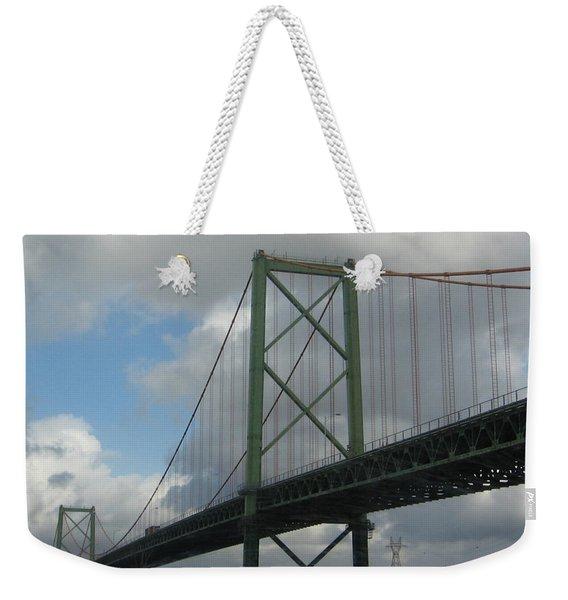 Halifax Bridge Weekender Tote Bag