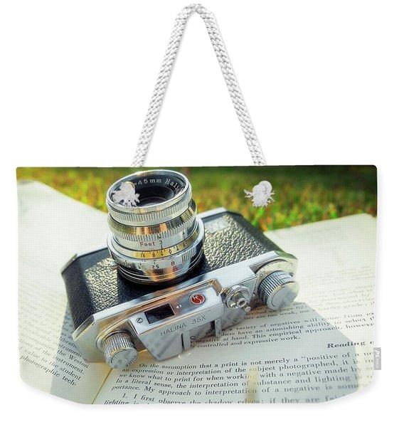 Halina 35x Rangefinder Camera Weekender Tote Bag