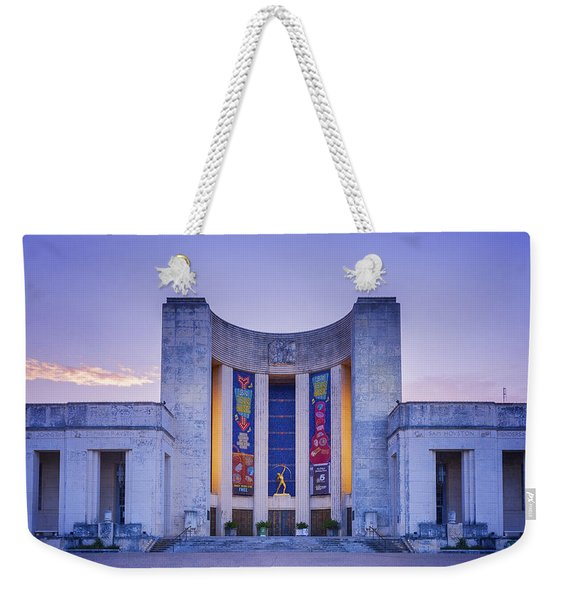 Hall Of State Texas Weekender Tote Bag
