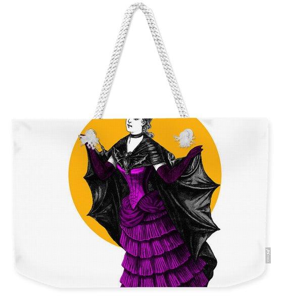 Halloween Batgirl Weekender Tote Bag