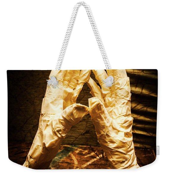 Halloween Fight Night Weekender Tote Bag