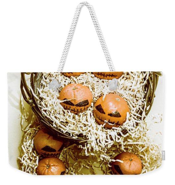 Halloween Food Decoration Weekender Tote Bag