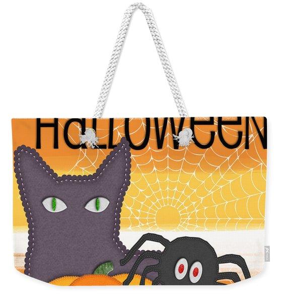 Halloween Friends- Art By Linda Woods Weekender Tote Bag