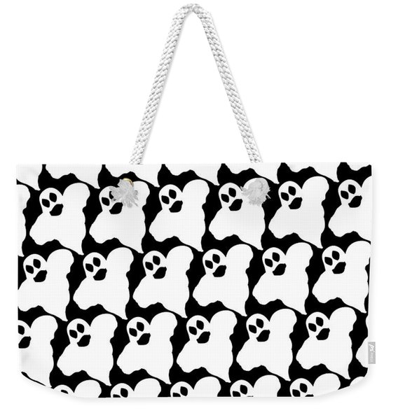 Halloween Ghosts Weekender Tote Bag