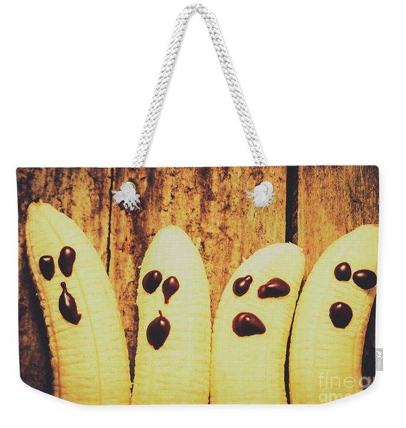 Halloween Healthy Treats Weekender Tote Bag