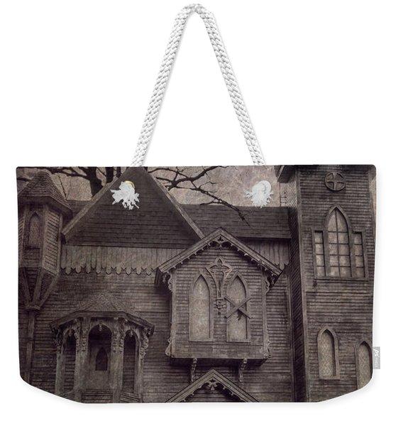 Halloween In Old Town Weekender Tote Bag