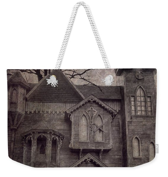 Halloween In Old Town Weekender Tote Bag