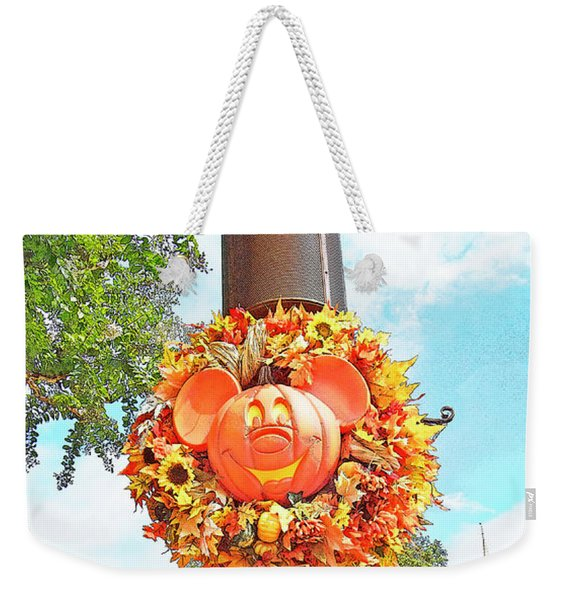 Halloween In Walt Disney World Weekender Tote Bag