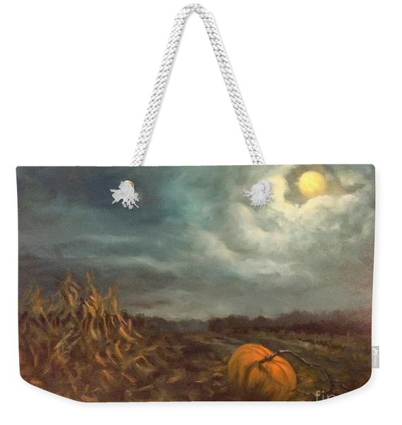 Halloween Mystery Under A Star And The Moon Weekender Tote Bag