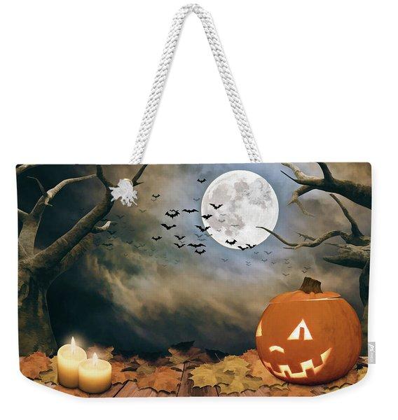 Halloween Night  Weekender Tote Bag