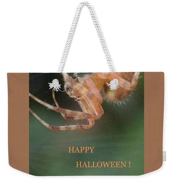 Halloween Spider Weekender Tote Bag
