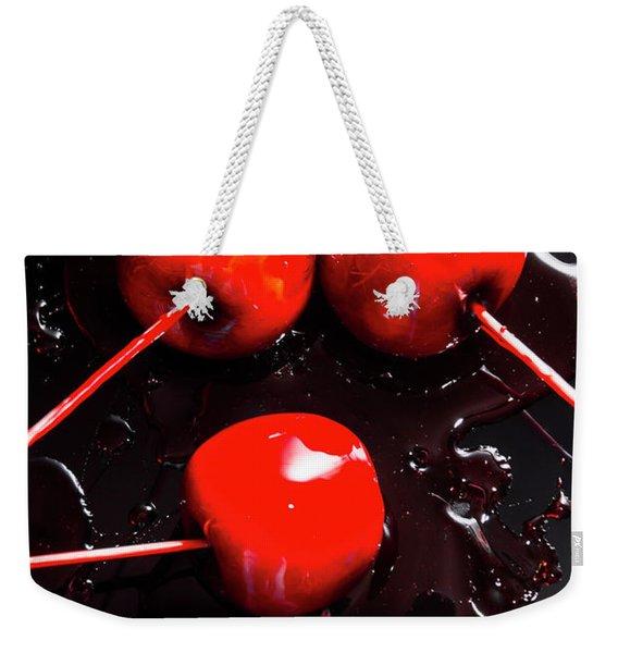 Halloween Toffee Apples Weekender Tote Bag
