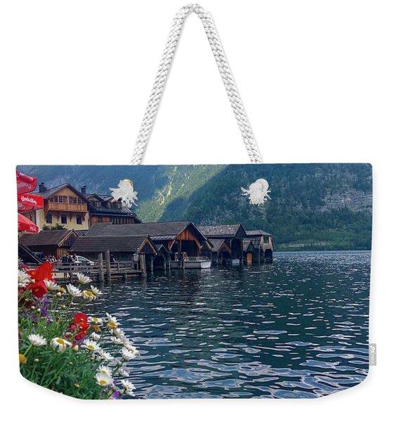Hallstatt Swan Weekender Tote Bag